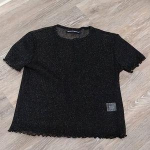 Brandy Melville sheer shirt